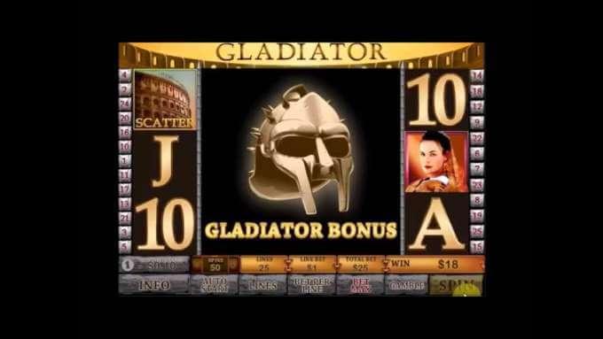 Slot Machine Gladiator (Playtech)- Slotmachinefree.net