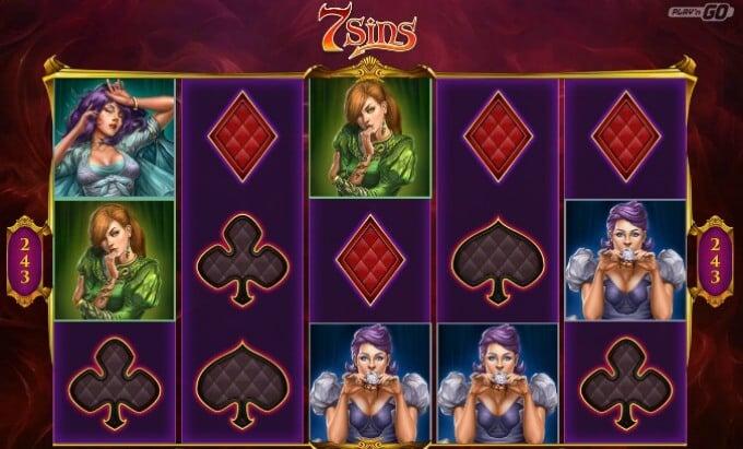 Play 7 Sins slot at LeoVegas casino