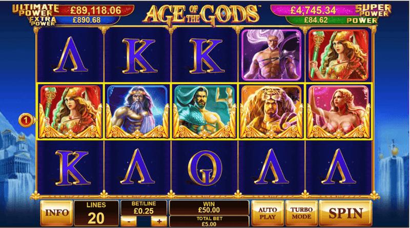 Age of the Gods - slot