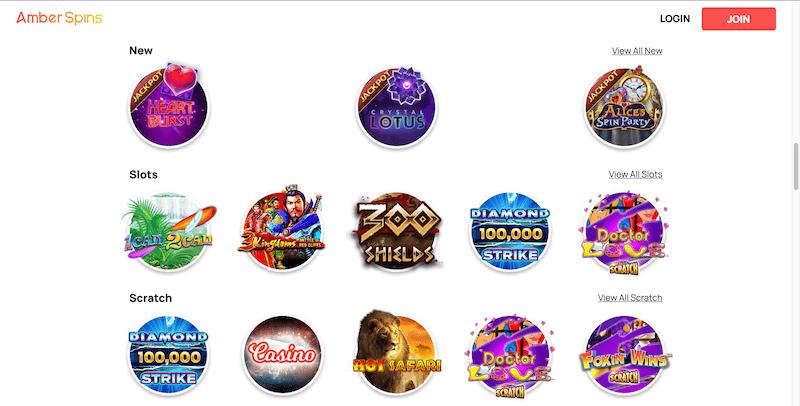 Amber Casino - slots