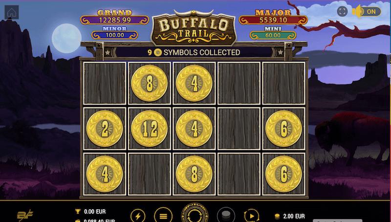 Buffalo Trail - gold coins