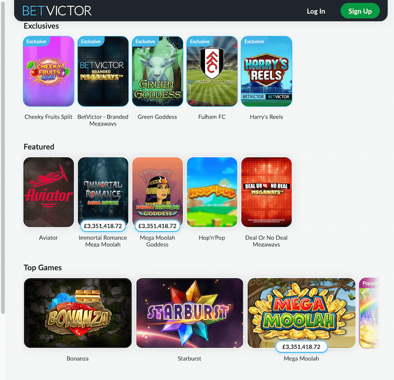BetVictor - slots