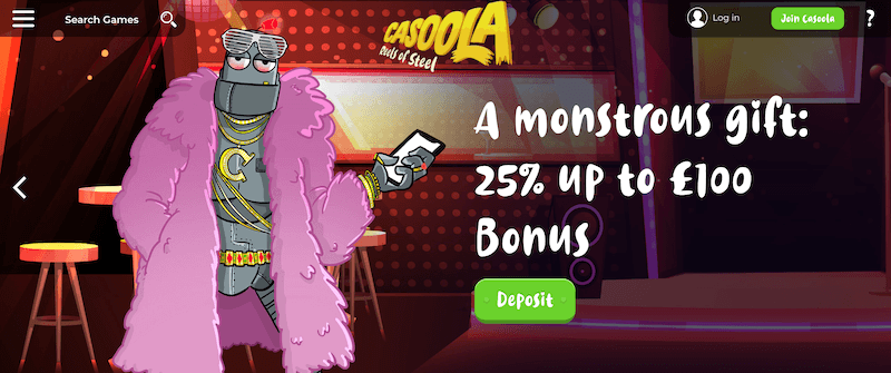 Casoola - Monster Spins