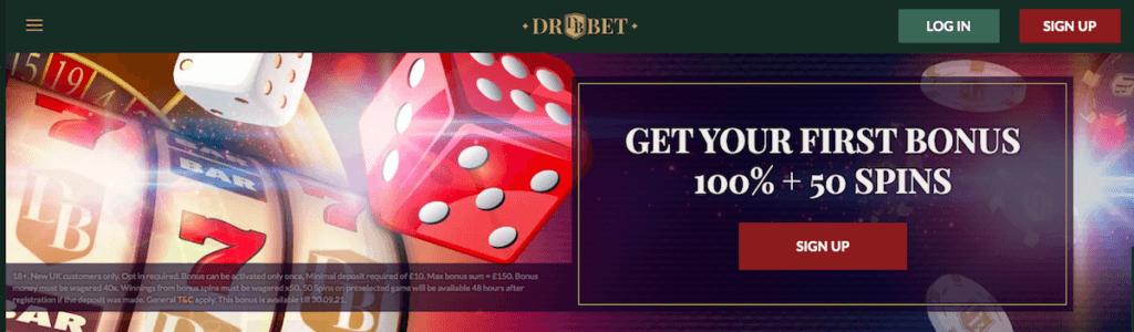 Dr Bet Casino bonus UK