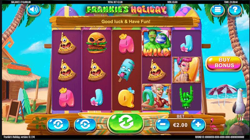 Frankies Holiday - main game