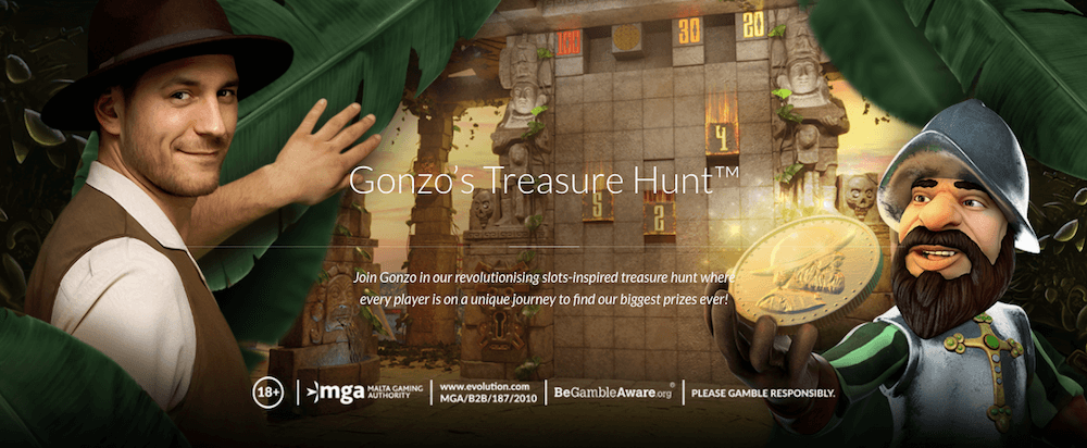 Gonzo's Treasure Hunt game review
