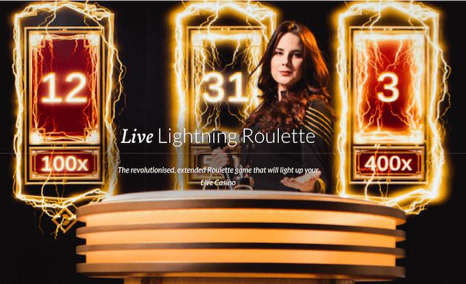 Lightning Roulette Evolution