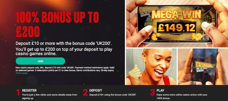 PokerStars - 100 % up to £200