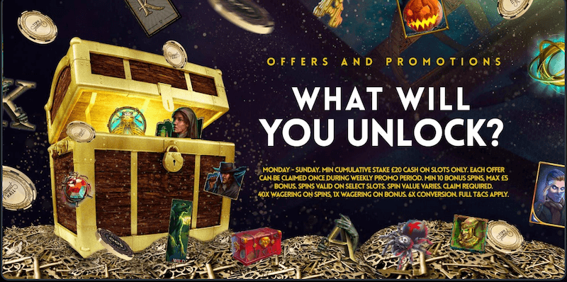 Prospect Hall Casino - What Will You Unlock?