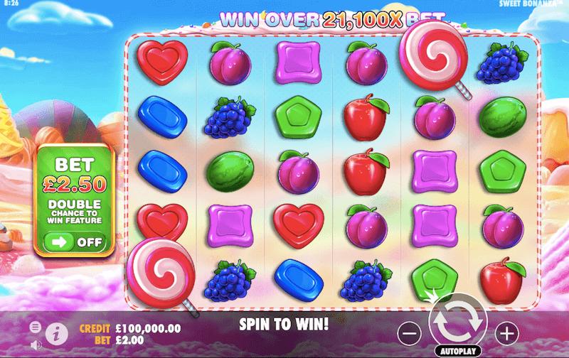 sweet bonanza ante bet feature