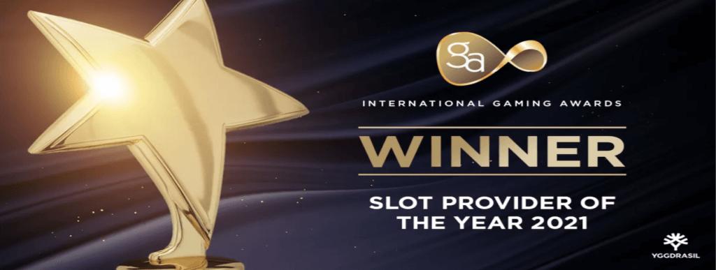 Yggdrasil - Slot Provider of the Year
