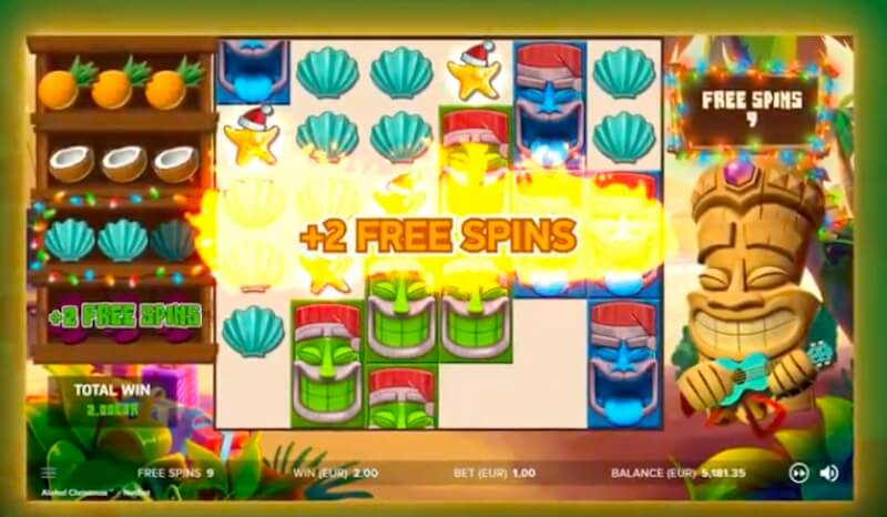 Aloha Christmas Edition Slot Review