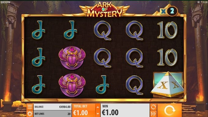 Ark of Mystery slot multiplier booster