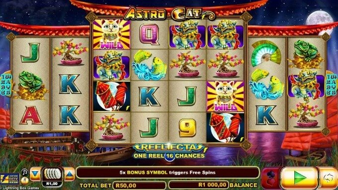 Astro Cat slot review and bonus