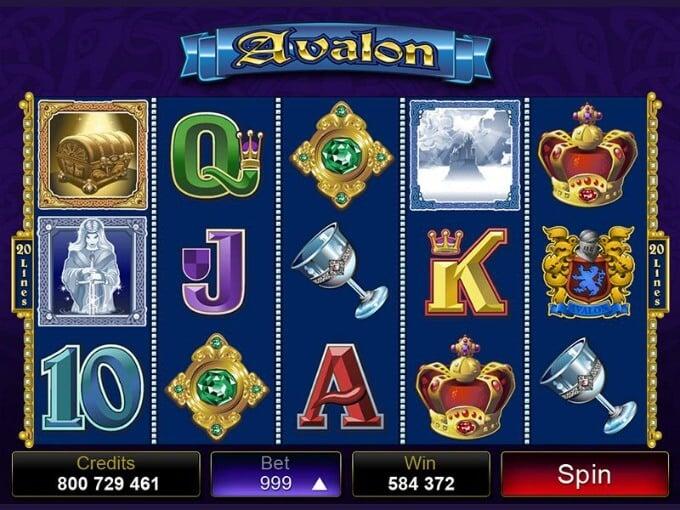 Play Avalon Slot at LeoVegas casino