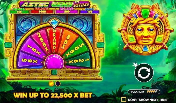 Aztec Gems Deluxe Pragmatic Play