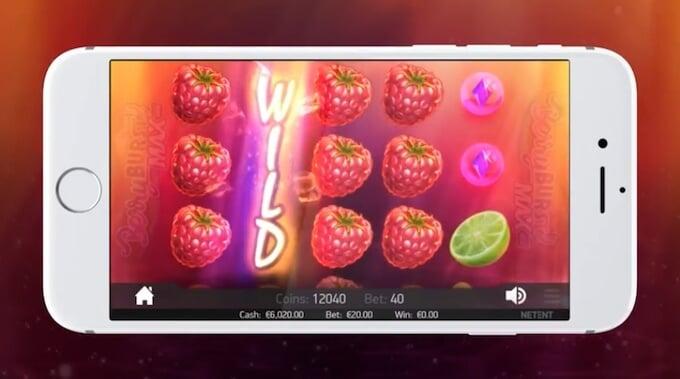 Berryburst MAX slot by NetEnt