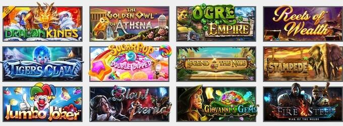 Play Betsoft games at Guts casino