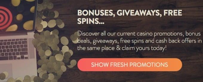 Get Betspin welcome bonus