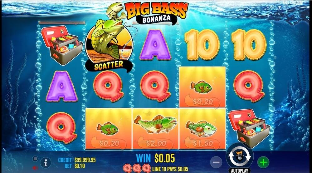 big bass bonanza slot