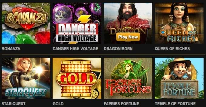 Big Time Gaming slots - play at Mr Green casino