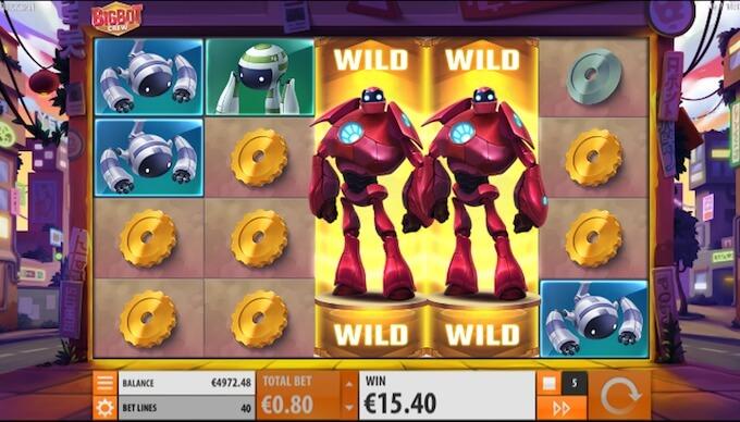 Bigbot crew wild respin