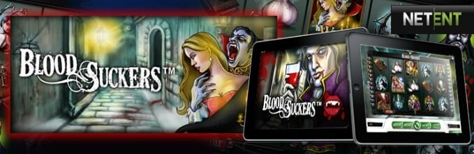 Play Blood Suckers slot at Maria casino