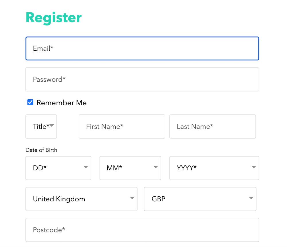 Bonzo Spins Registration