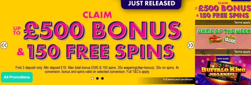 bonzospins uk bonus