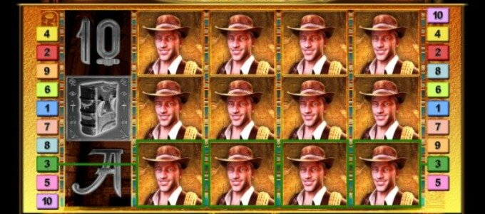 Play Book of Ra Deluxe slot at Casumo Casino