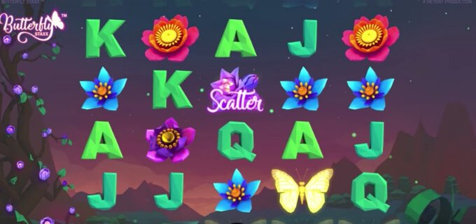 Play Butterfly Staxx slot at Dunder Casino