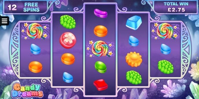 Candy Dreams slot review and bonus