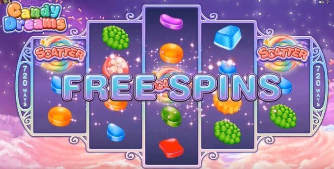 Play Candy Dreams at Dunder Casino