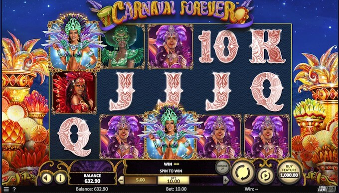 Carnival Fever slot by Betsoft