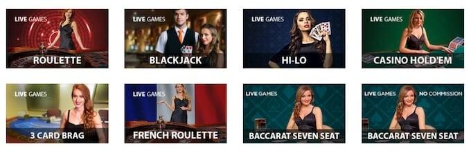 Casino.com Live Casino