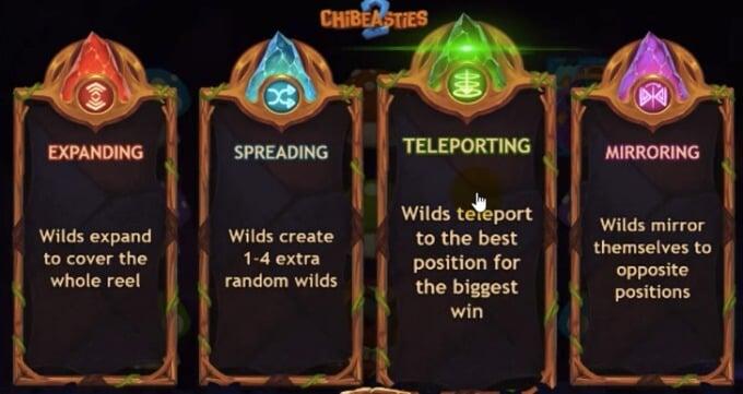 Chibeasties 2 slot Realms