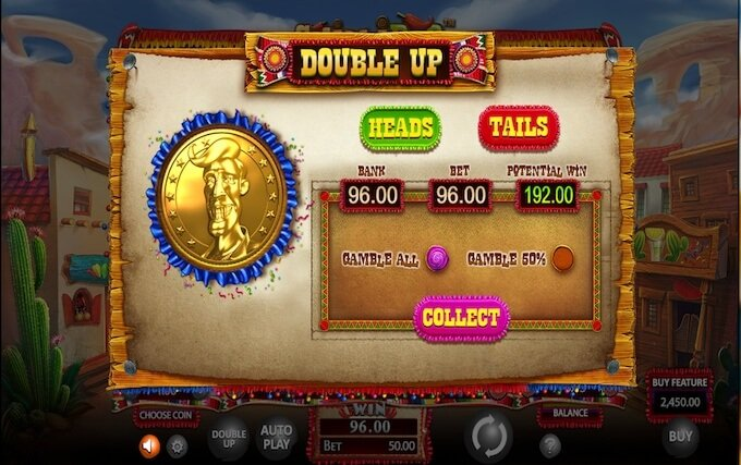 Chillipop slot gamble feature