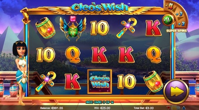 Cleo's Wish super spins