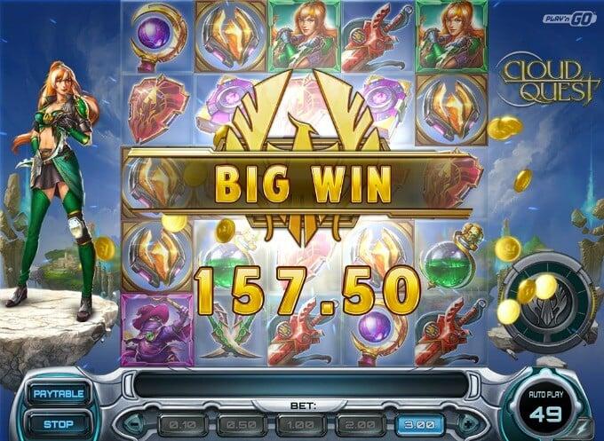Play Cloud Quest slot on Betsafe Casino