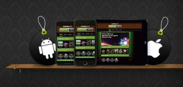 Play on ComeOn! Mobile casino