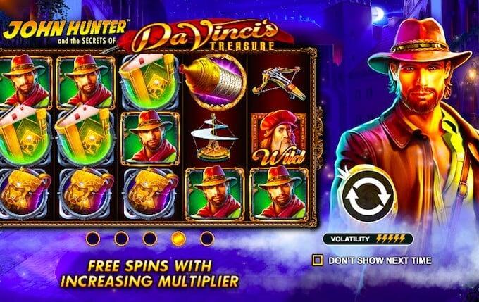 Da Vincis Treasure slot review