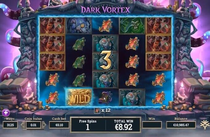 Dark Vortex slot free spins