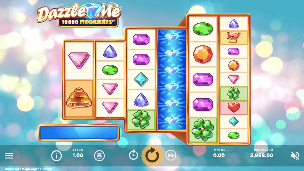 dazzle me megaways slot review netent