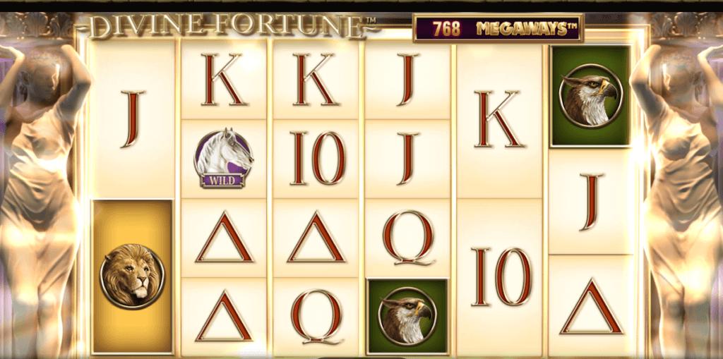Divine fortune megaways gameplay