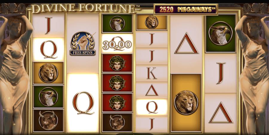 Divine Fortunes Megaways Slot