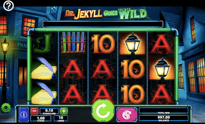 Dr Jekyll goes wild review