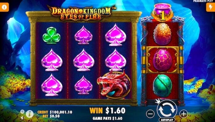 Dragon Kingdom Eyes of Fire slot UK