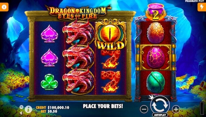 Dragon Kingdom Eyes of Fire Pragmatic Play