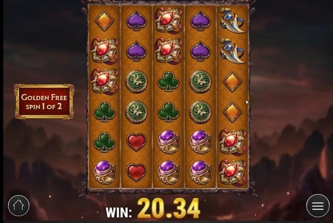 Dragon Maiden Golden free spins