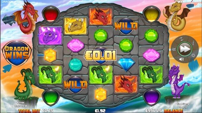 Dragon Wins reels